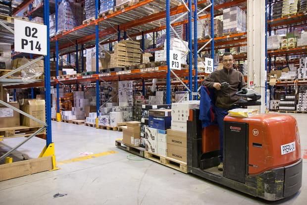 Pixmania : mise en stock des produits