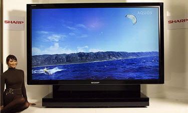 un téléviseur de 2,74 m (108 pouces)
