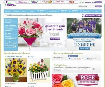 1800 flowers est le 1er e-marchand us de la catégorie 'fleurs et cadeaux'