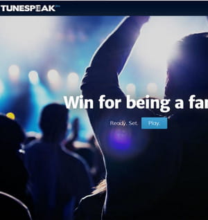 tunespeak promet d'augmenter l'engagement des fans.