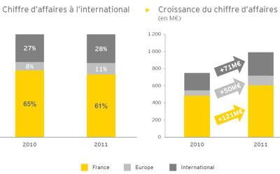 390 millions des 1,002 milliard d'euros générés à fin 2011 l'étaient à