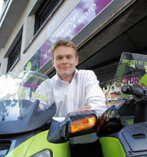 cyril masson est le fondateur de citybird, une société de taxis motos.
