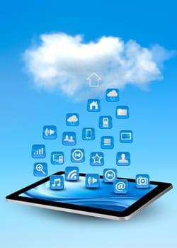 logiciels, jeu, stockage de données... le cloud personnel est incontournable.