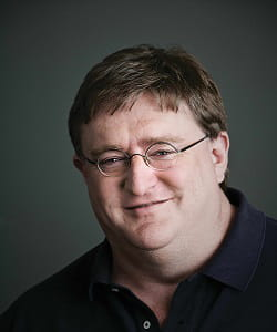 gabe newell, ancien employé de microsoft.