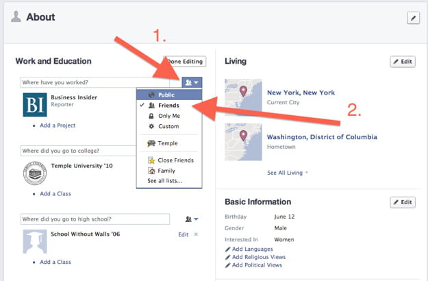 graph search facebook 2