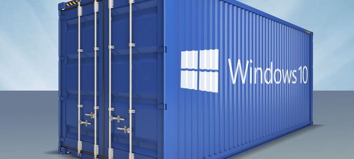 Les containers: la prochaine grande mutation de Windows 10?