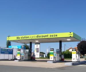 le prix du gazole dans les stations ecomarché a baissé de 4,22% en 2009.
