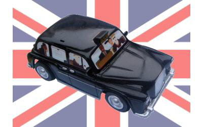taxi londonien radio commandé