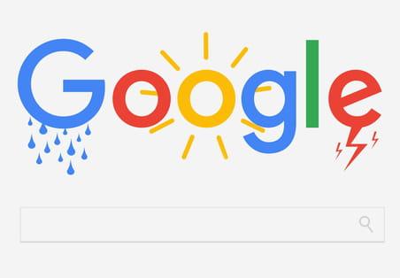 Météo Google en France: le choc des photos, le bof des vidéos