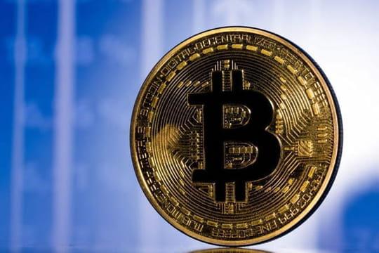 Image Bitcoin: son cours dégringole sous les 45000dollars