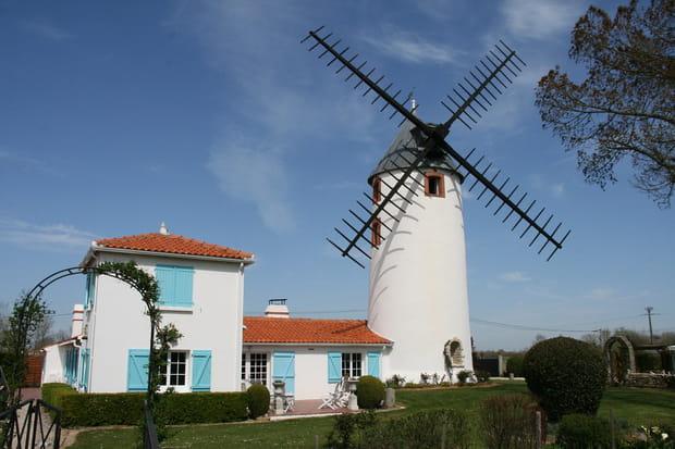 Un moulin vendéen de 300mètres carrés...