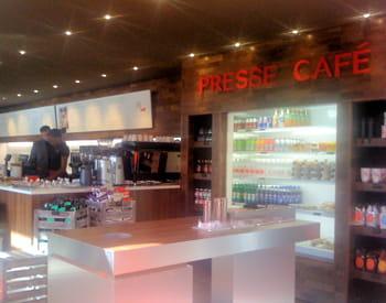 le restaurant presse café à paris.