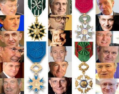 lequel de ces patrons épingle les plus belles médailles à sa boutonnière ?