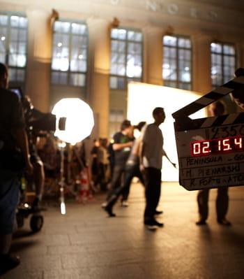 le tournage de gossip girl en gare du nord.