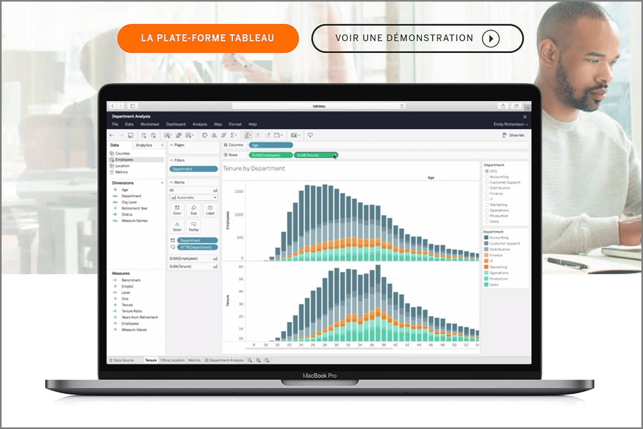 Salesforce achète Tableau Software — Analytics