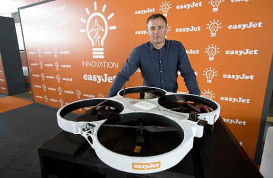 Drones, impression 3D et réalité virtuelle: easyJet lance l'aviation2.0