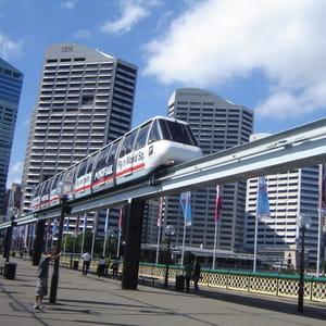 le monorail de sydney.