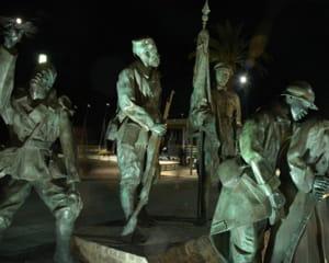 un mémorial des tirailleurs sénégalais.
