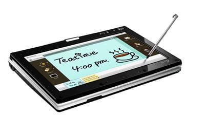 un écran tactile sur pc portable