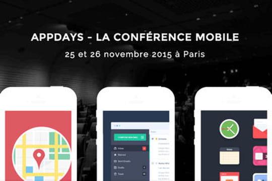 Les Appdays se tiendront les 25 et 26 novembre prochains