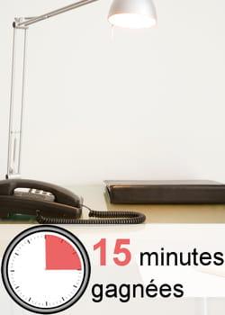 evitez d'avoir un bureau surchargé.