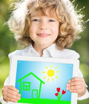 le groupe vtech a développé une tablette qui vise les enfants de plus de 18