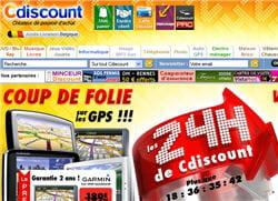 cdiscount, numéro 1 des sites marchands btoc.