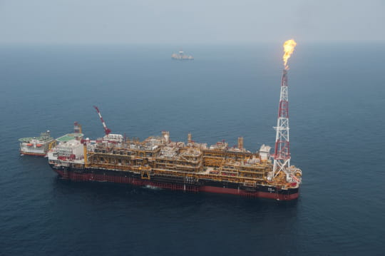 Pazflor, la plus grande plateforme pétrolière dumonde