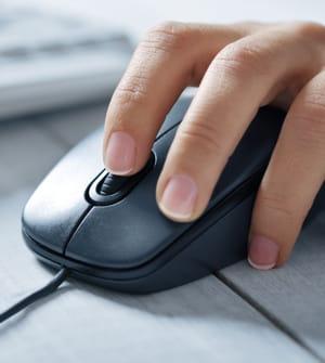 bougez votre souris pour éviter des traumatismes.