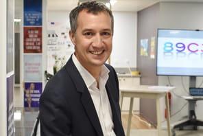 """Luc Barnaud (Natixis):""""Avec la blockchain, nos clients pourraient mettre des documents dans un coffre-fort digital"""""""