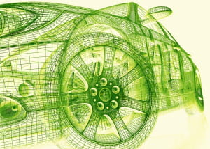 l'automobile de demain sera forcément verte.