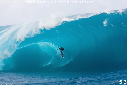 Des images de surf impressionnantes