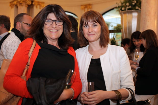 Catherine Cavin et Véronique Laury