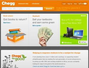 chegg.com, un e-loueur de livres scolaires qui se mue en portail pour étudiants