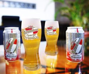 la nouvelle kronenbourg open bar pression.