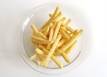 un euro = 330 grammes de frites