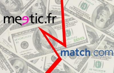 meetic a refusé l'offre de rachat de match.com