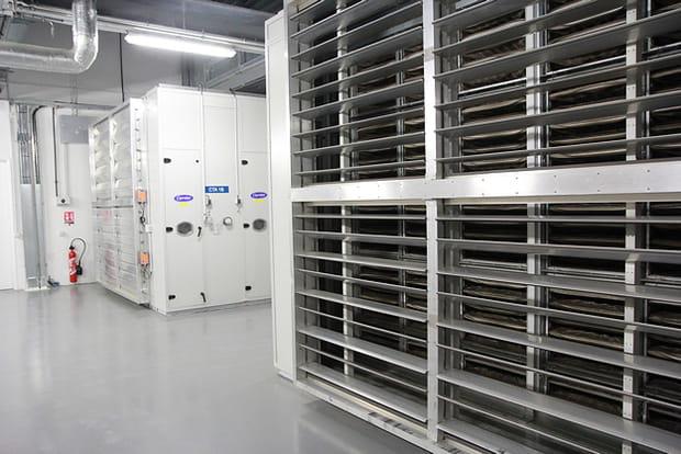 Un data center conforme à la norme Haute qualité environnementale