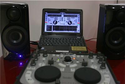 un logiciel de mixage retravaillé pour e-café, avec également une version linux