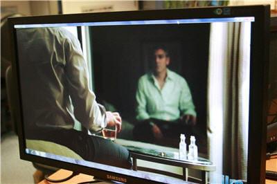 l'écran en utilisation cinéma.