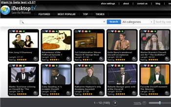 le site web idesktop.tv