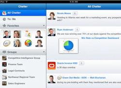 chatter mobile pour ipad et tablettes android est disponible par défaut dans la