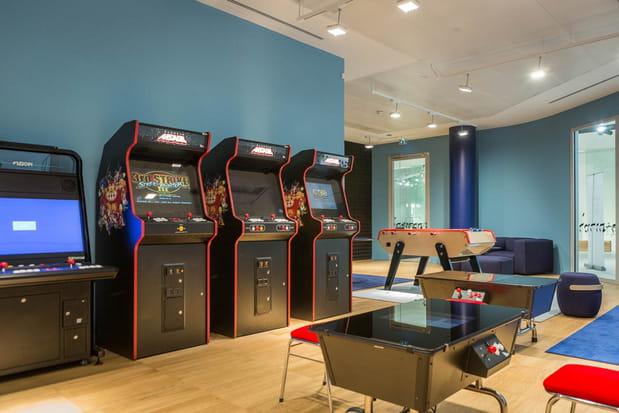 Une salle de jeux