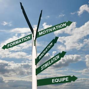 trouvez les chemins qui vous permettent de progresser.