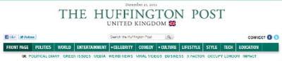 le huffingtonpost arrivera en france à la mi-janvier