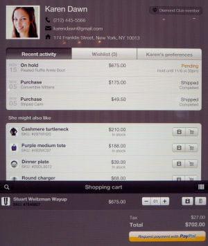 paypal transmet au marchand les informations que l'acheteur a choisi de partager