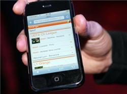 le premier modèle d'iphone commercialisé en 2007