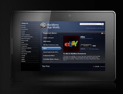 l'app wolrd, la plateforme de téléchargement de blackberry