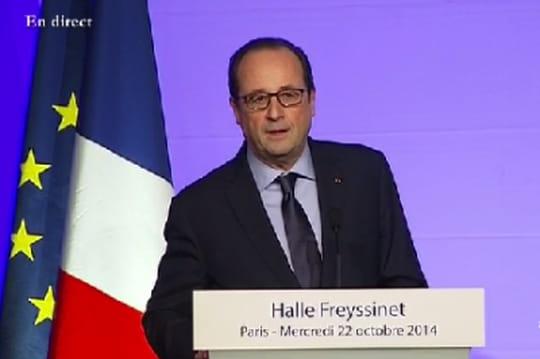 Halle Freyssinet : François Hollande inaugure les travaux
