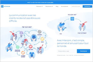 Intercom : l'app de gestion de la communication client qui explose